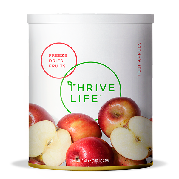 Fuji Apple Slices - Freeze Dried